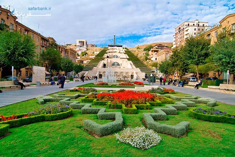 هزار پله ارمنستان یا کاسکاد ایروان