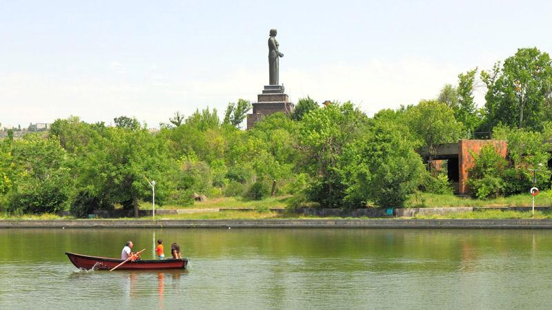 پارک پیروزی ایروان از جاهای دیدنی ارمنستان