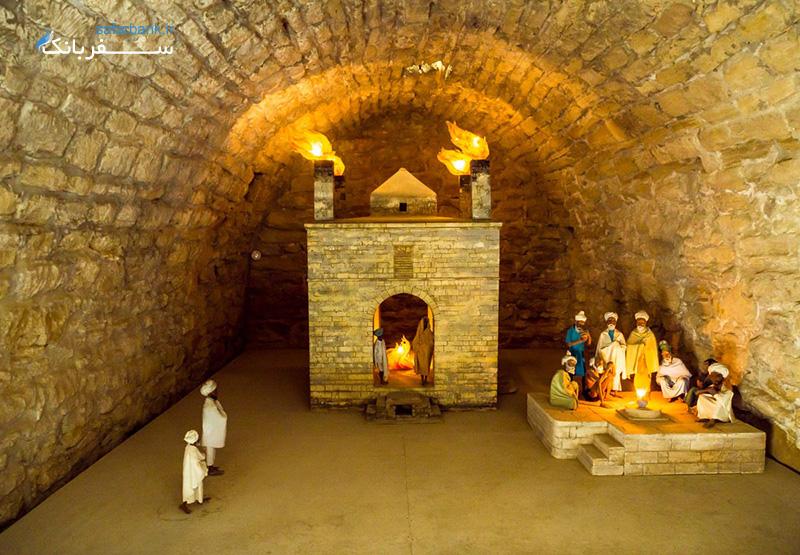 آتشگاه باکو معروف ترین جاذبه گردشگری آذربایجان