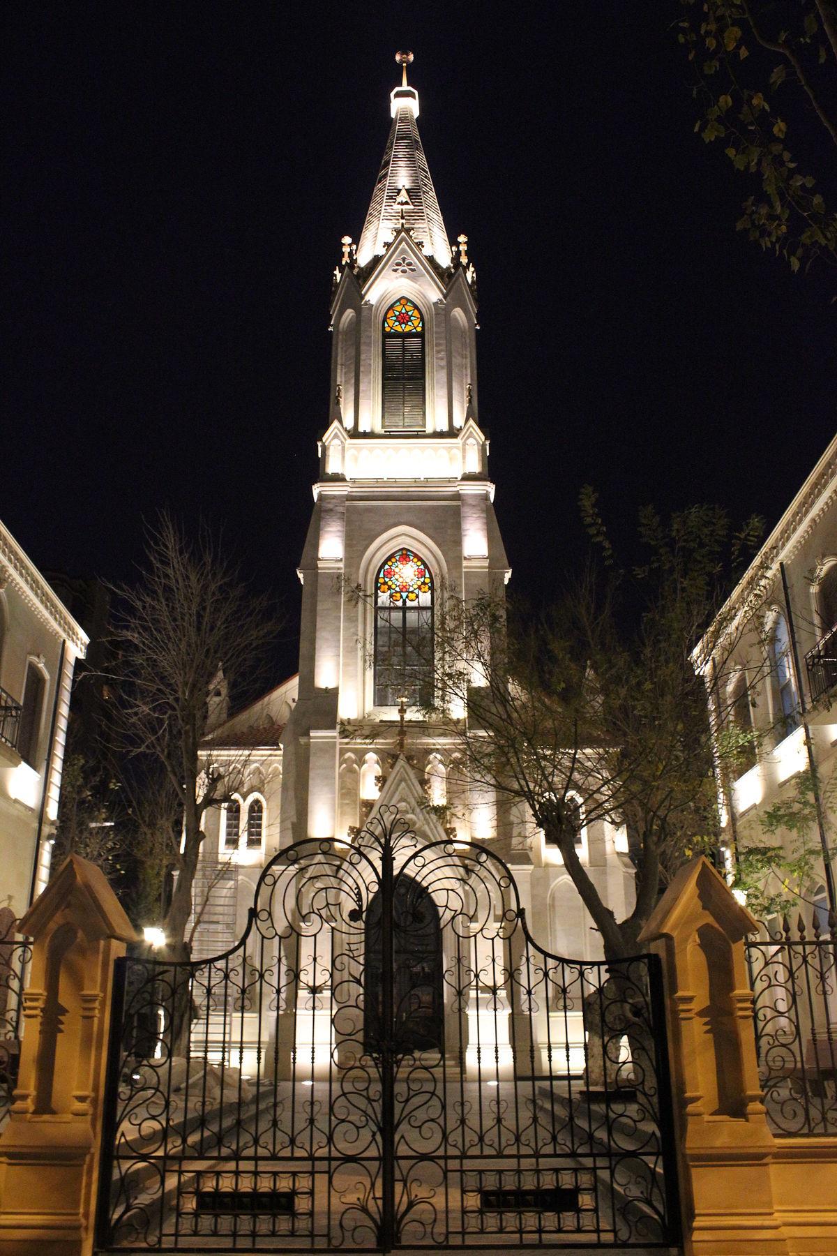 کلیسای آلمانی در شهر باکو آذربایجان
