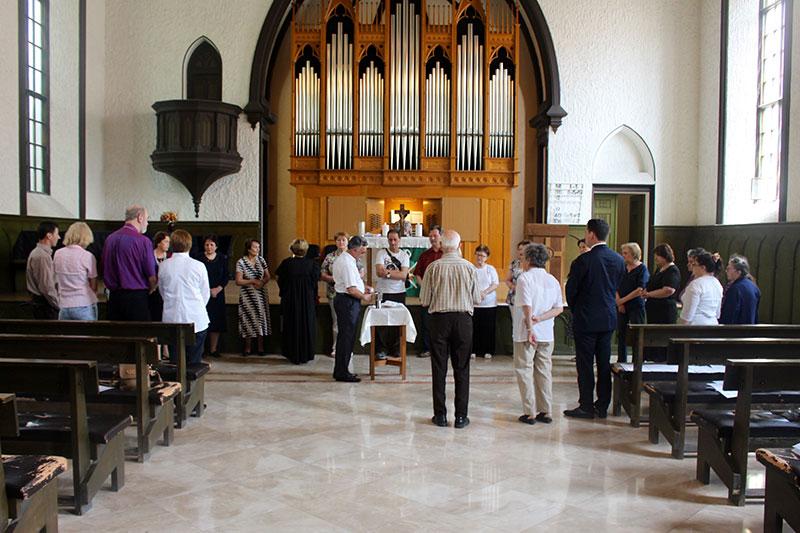 کلیسای لوتران یک کلیسای آلمانی در باکو آذربایجان