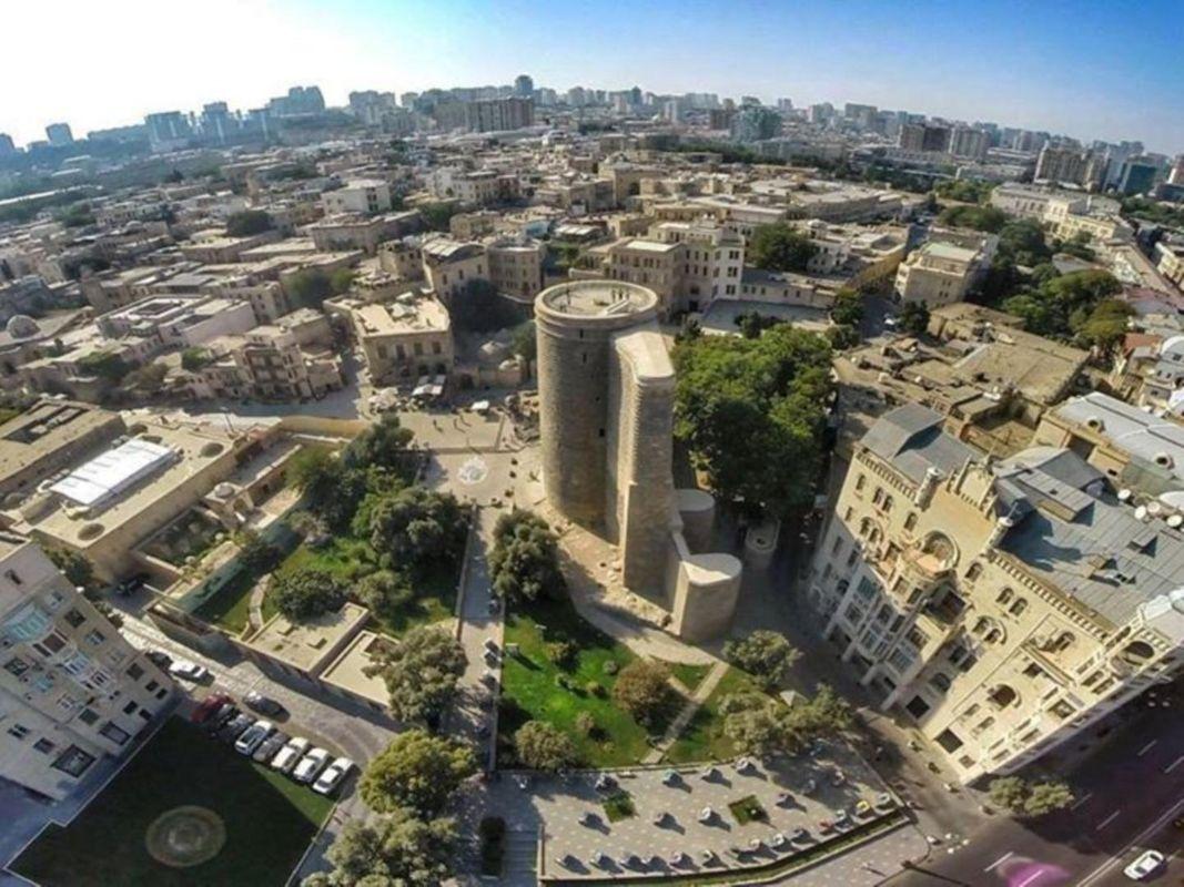 برج دختر در باکو و تور آذربایجان