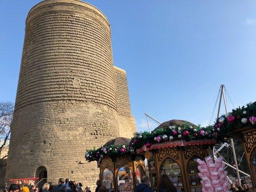 برج دختر یا کیز کالاسی در باکو آذربایجان