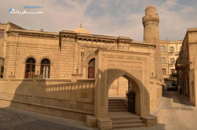 عکس کاخ شیروان شاهی باکو در آذربایجان