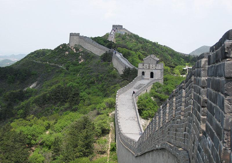 دیوار چین در تور چین