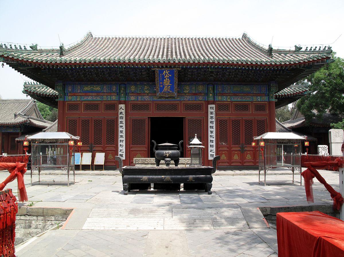 معابد چین