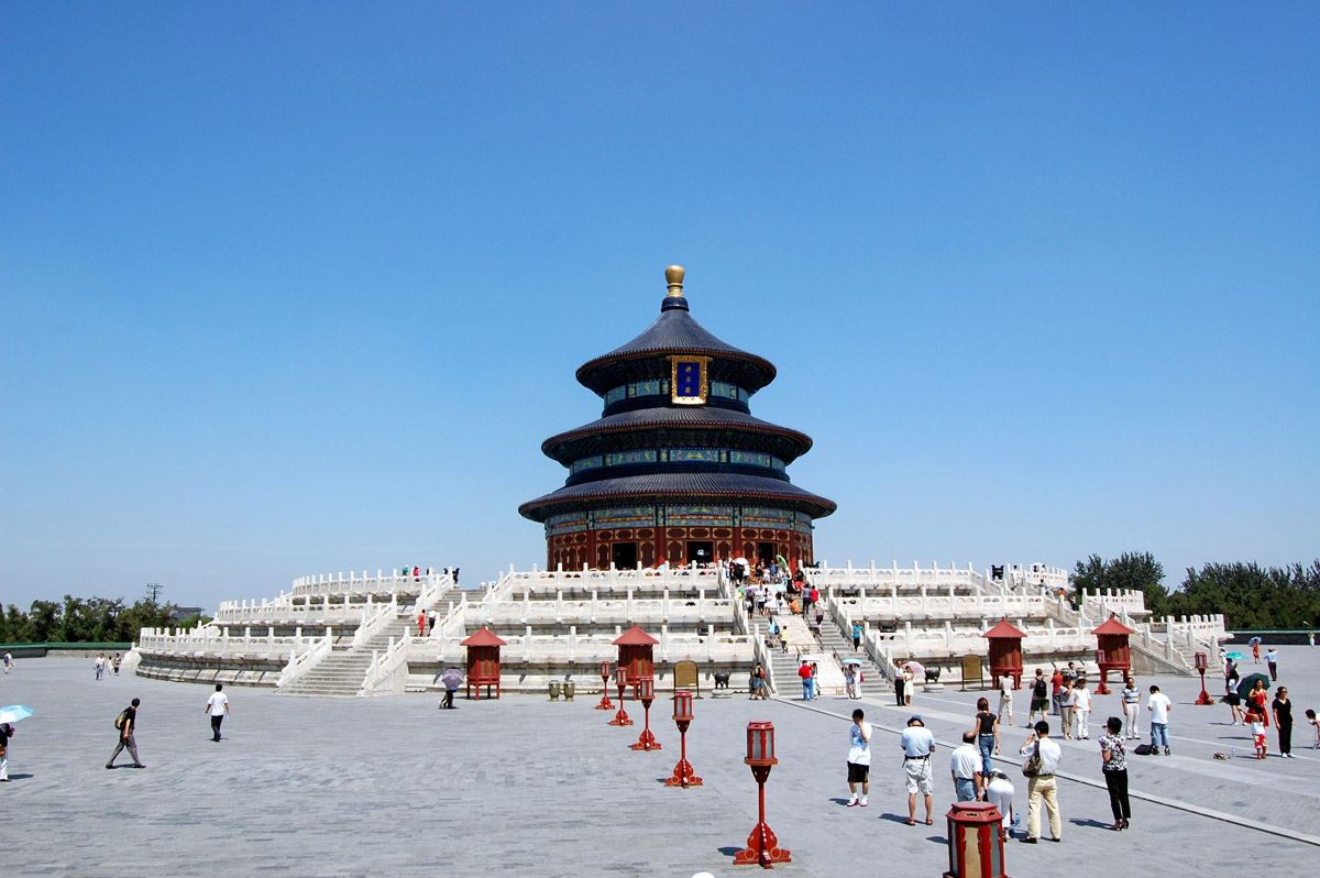 معبد بهشت در تور پکن