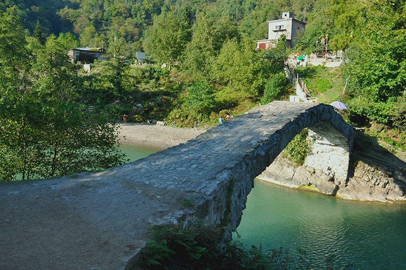پل ماخونتستی در باتومی گرجستان