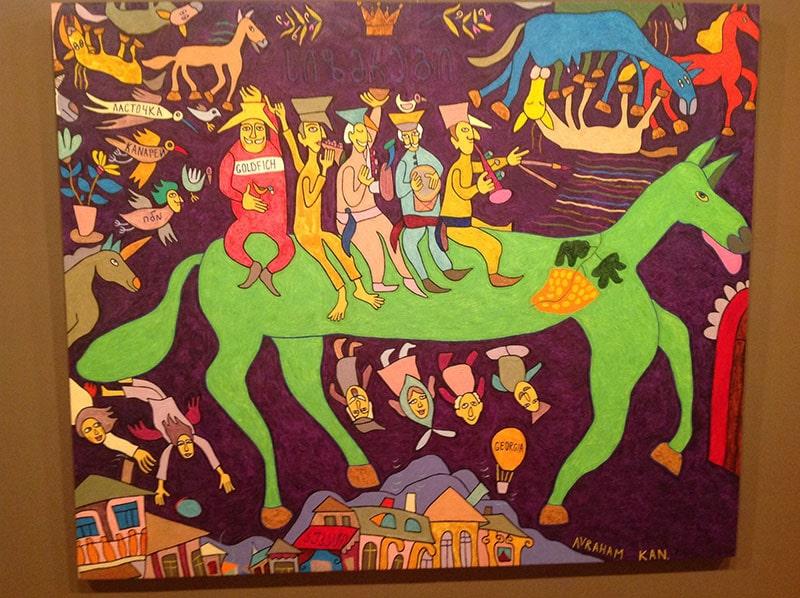 موزه آجارا در باتومی
