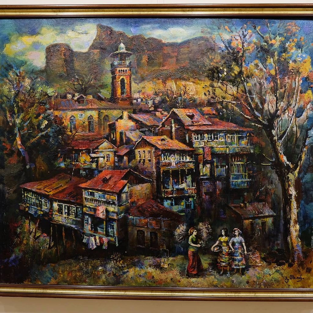 نقاشی های موزه آجارا در باتومی