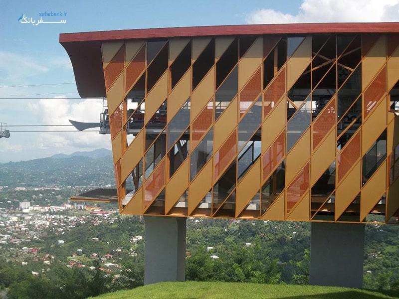 معماری مجتمع تفریحی آرگو در باتومی