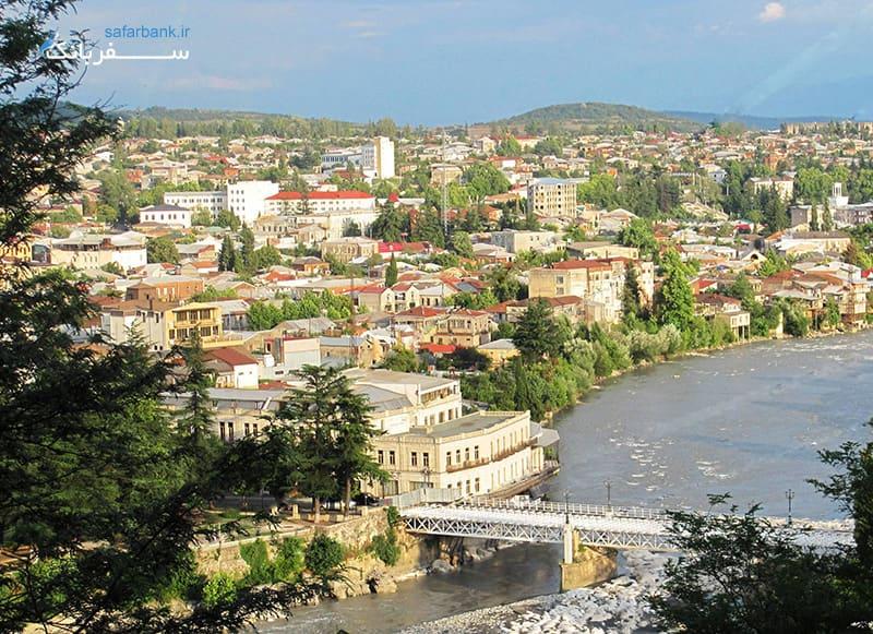 مهمترین شهرهای گرجستان