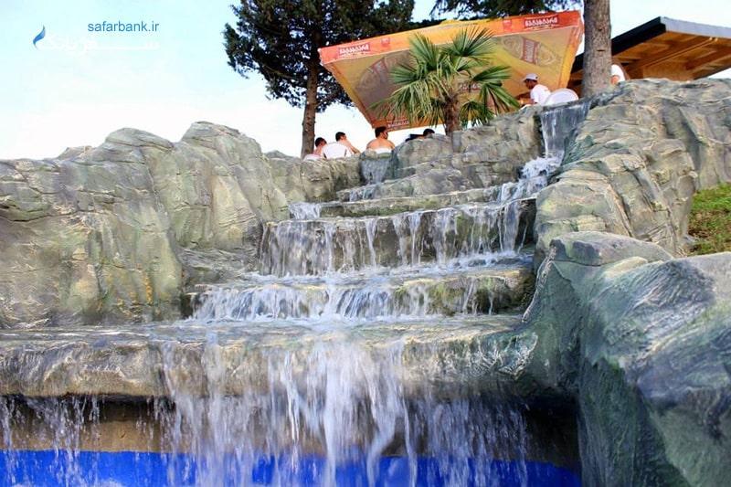 پارک آبی جینو پارادایس در تفلیس گرجستان