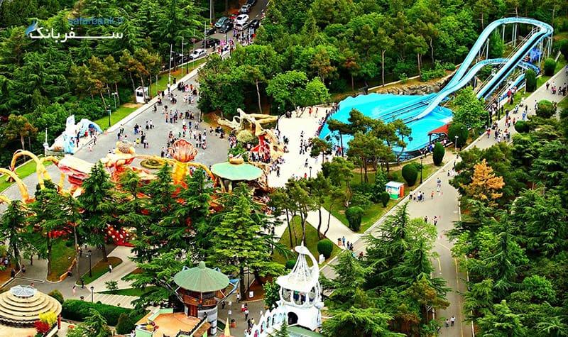 پارک و شهربازی متاتسمیندا در تفلیس گرجستان