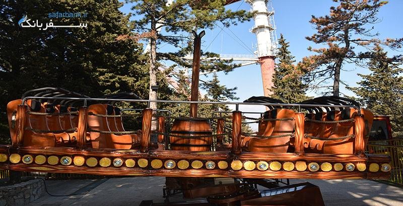قایق دیوانه در شهربازی متاتسمیندا تفلیس