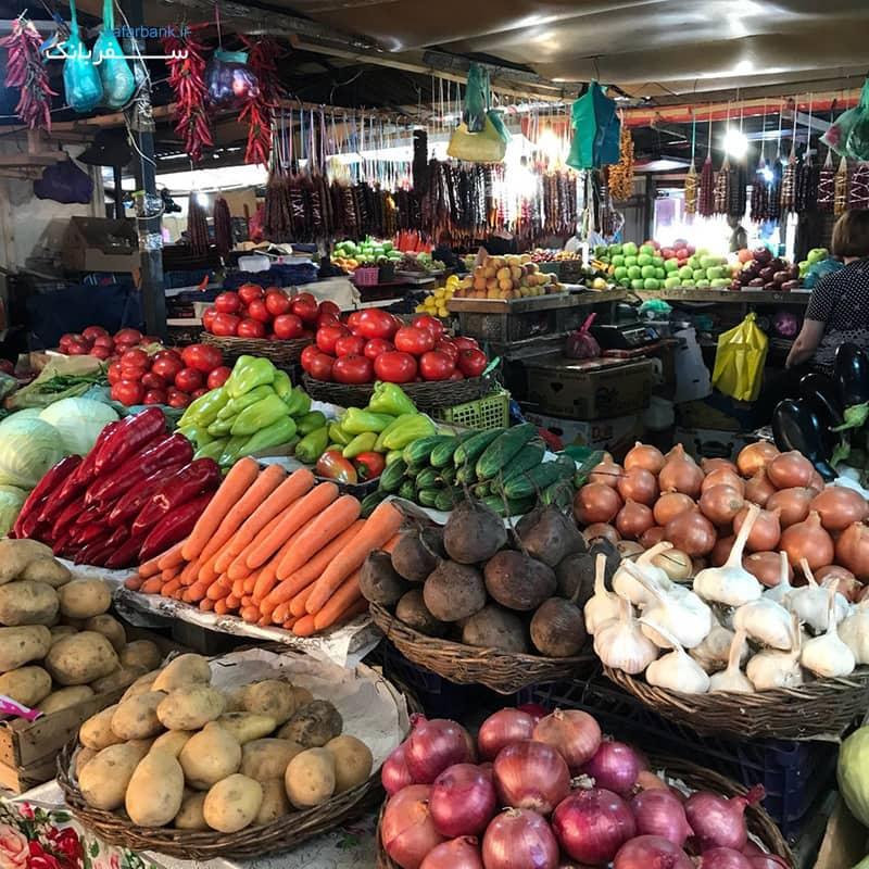 بازار واگزال تفلیس