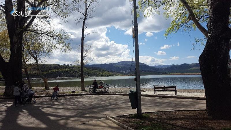 دریاچه های تفلیس