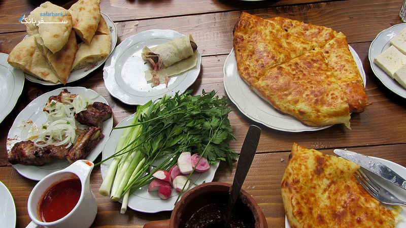 غذا در رستوران های متسختا