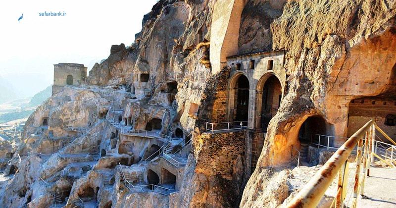 شهر غاری واردزیا در تفلیس