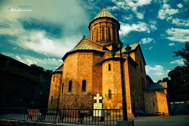 عکس کلیسای سیونی گرجستان