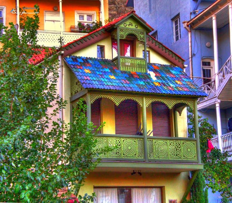 عکس شهر قدیمی تفلیس