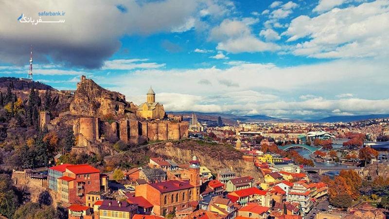 شهر قديمي تفليس
