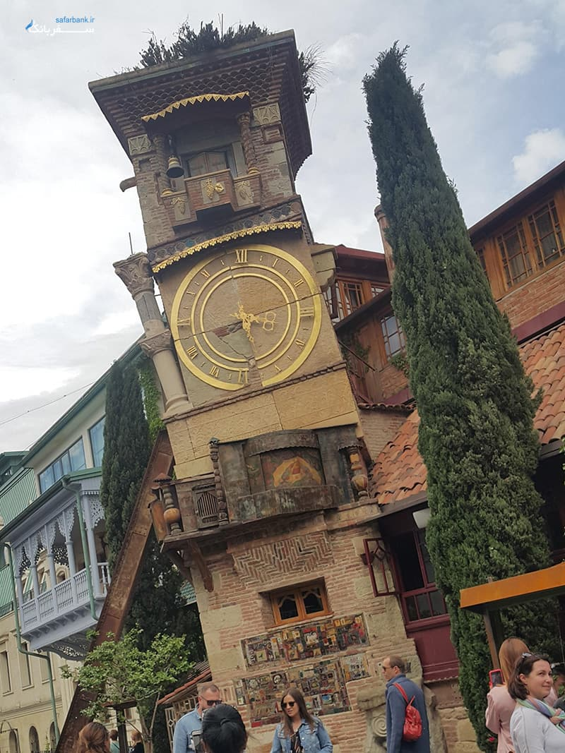 برج ساعت در تفلیس