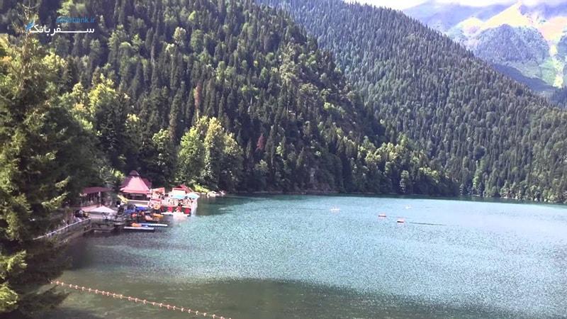 دریاچه ریتسا گرجستان