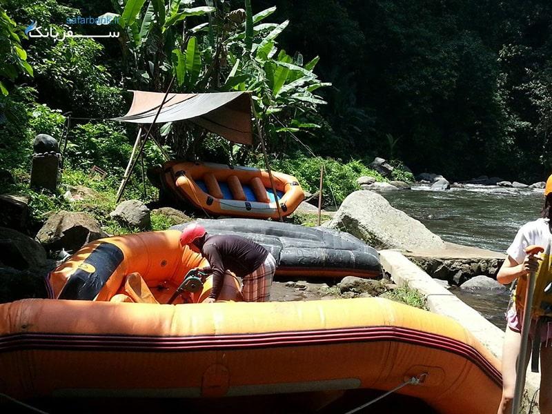 رفتینگ در بالی اندونزی