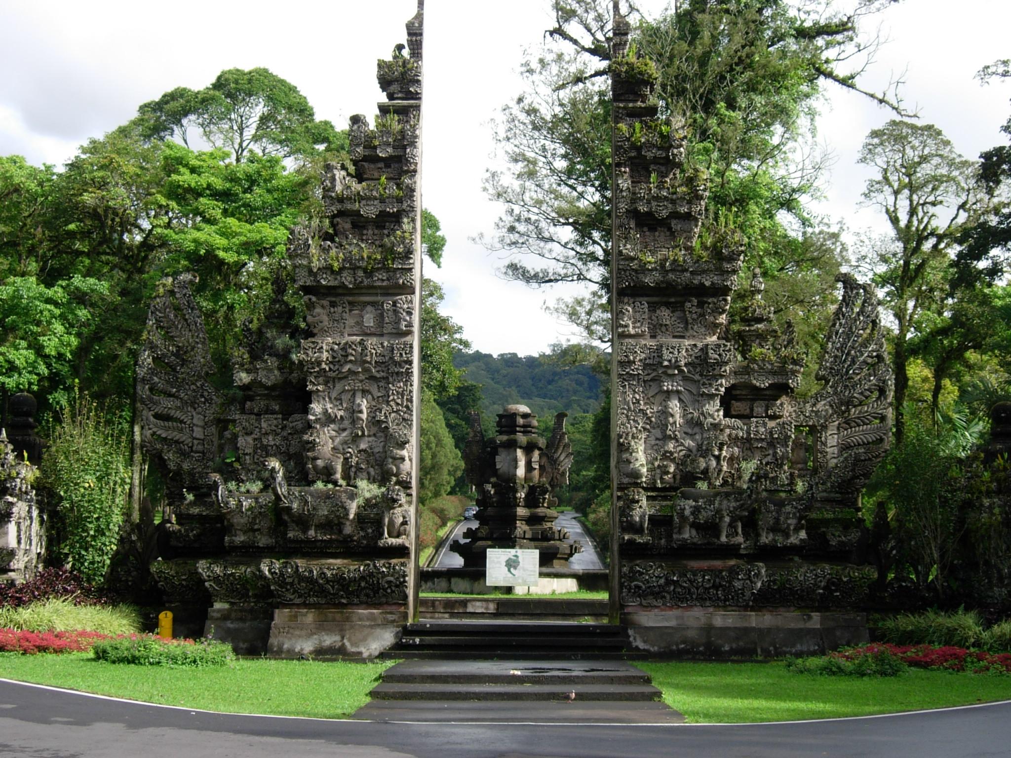 باغ گیاه شناسی بالی در اندونزی