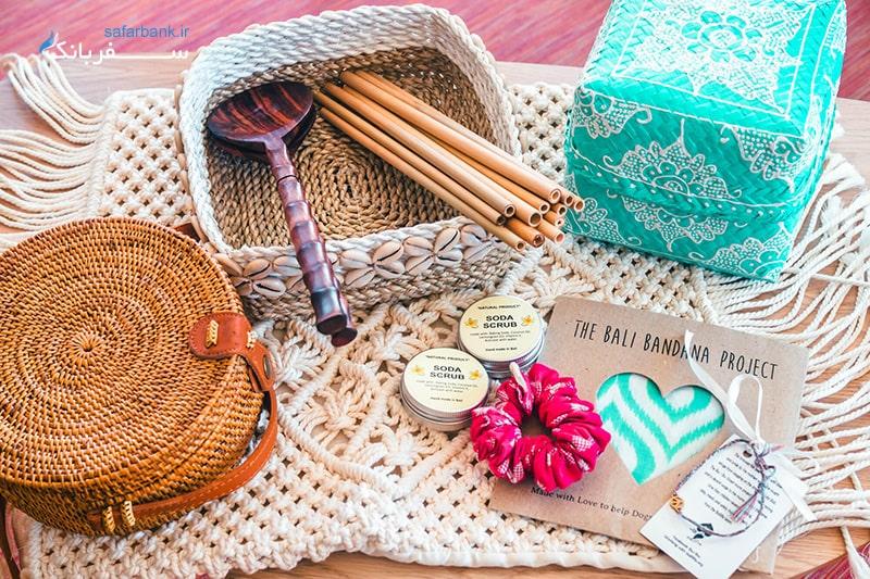 صنایع دستی و سوغاتی بالی