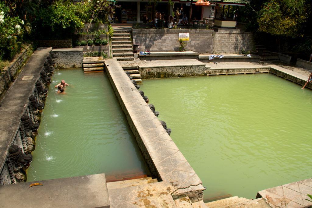 بازدید از چشمه های آب گرم بالی
