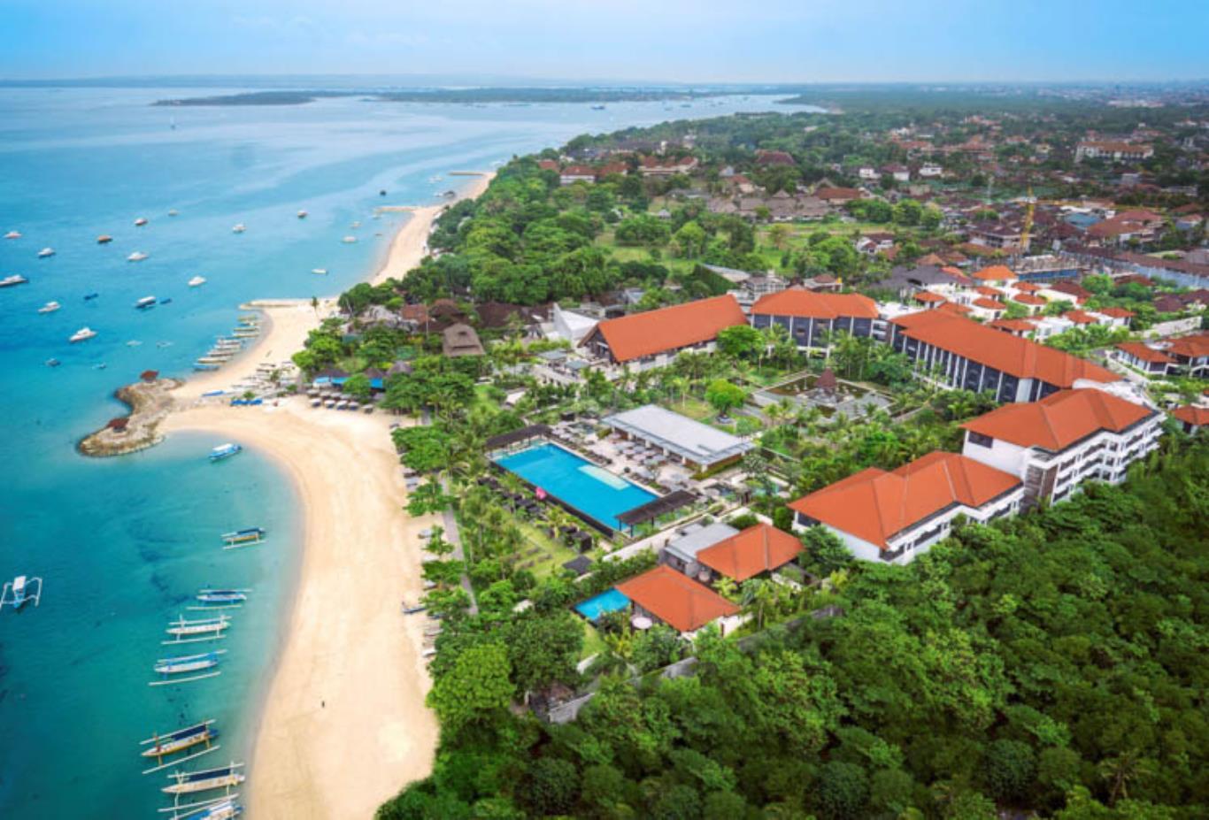 ساحل سانور از جاهای تفریحی و دیدنی بالی اندونزی