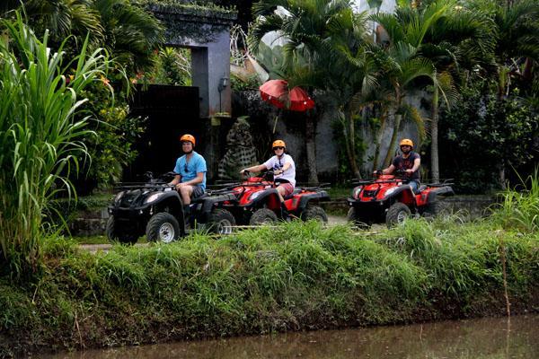 تور های گردشگری بالی atv- ride