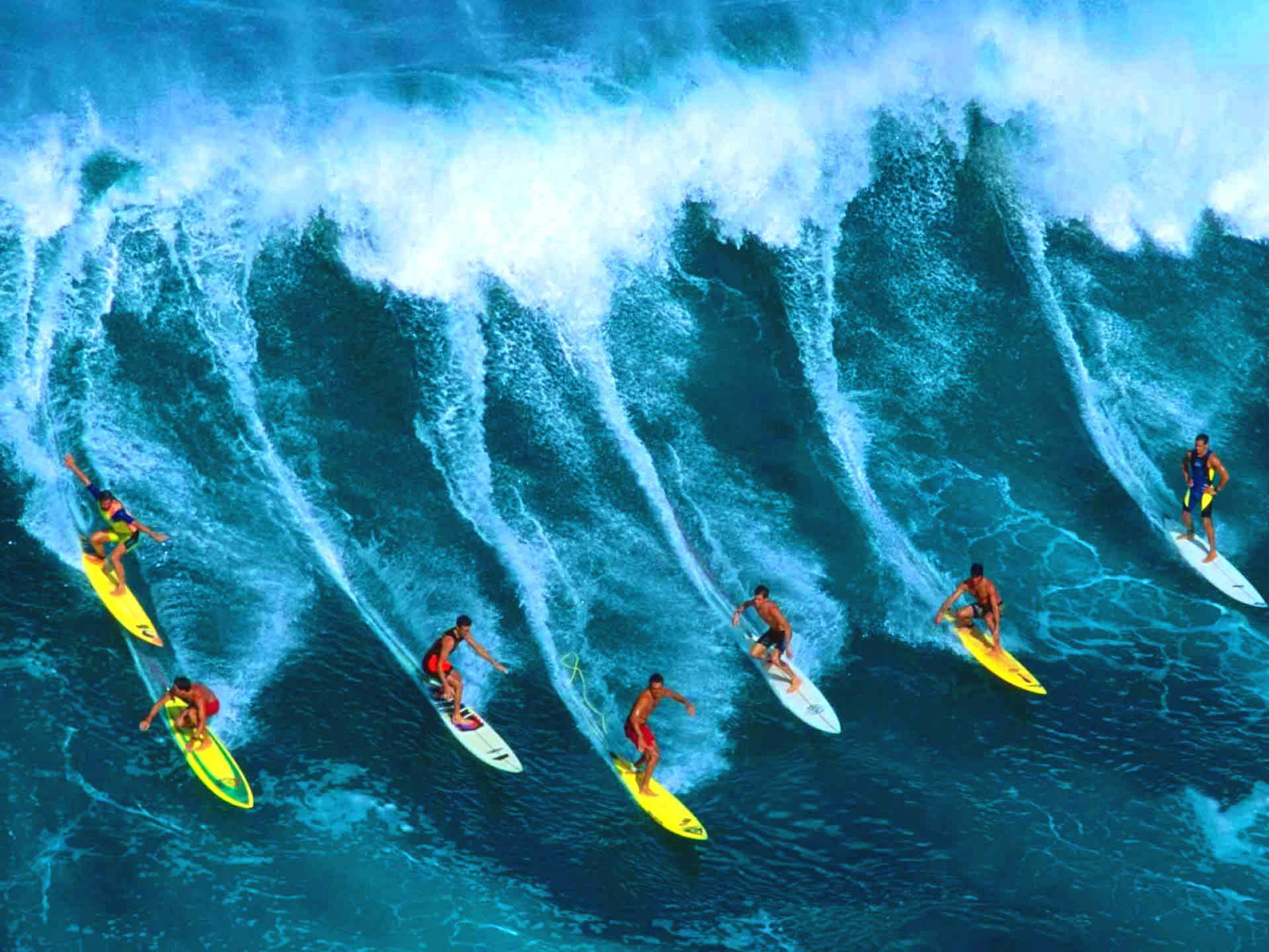 تفریحات آبی بالی، سرفینگ یا موج سواری در بالی اندونزی