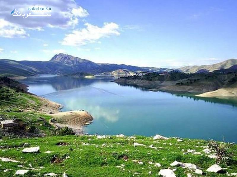 دریاچه دوکان از جاذبه های گردشگری سلیمانیه عراق