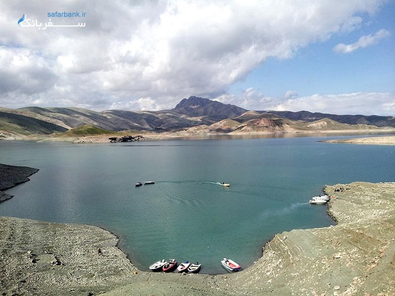 دریاچه دوکان در استان سلیمانیه عراق