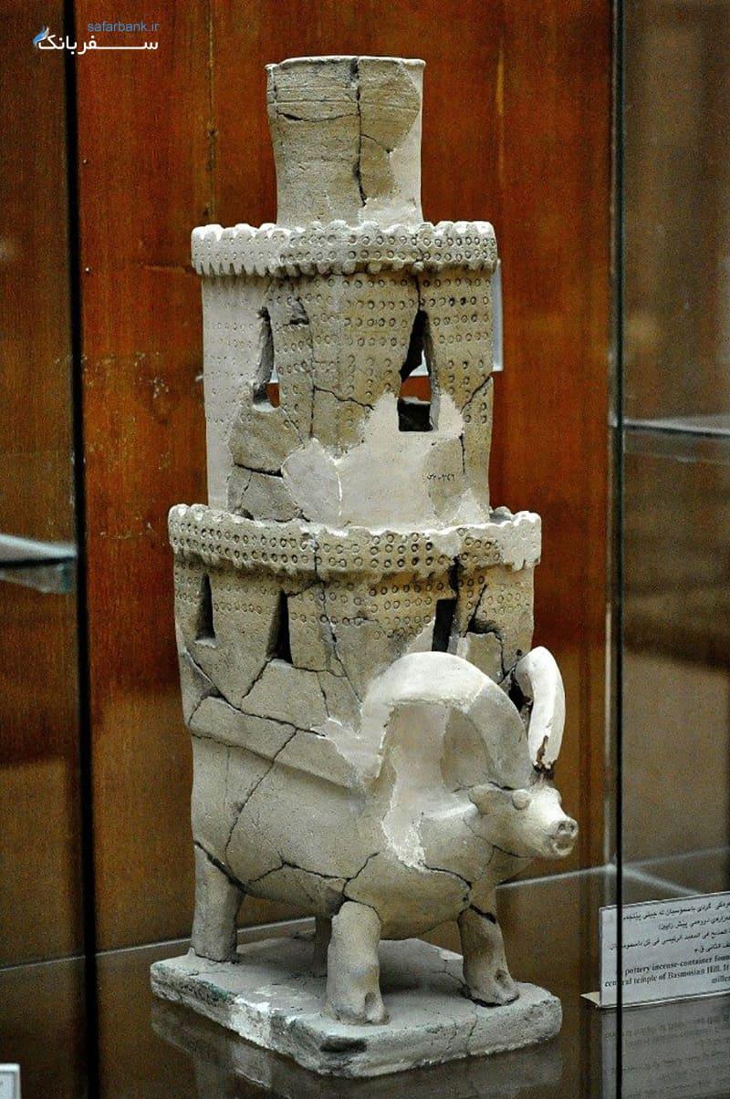چراغ گرم کن یا مشعل بخور دادن، موزه باستان شناسی سلیمانیه عراق