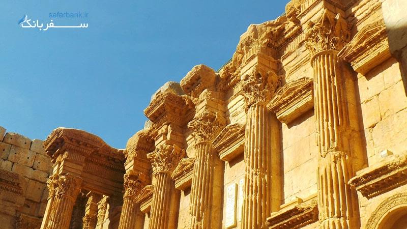 معبد ونوس در بعلبک لبنان