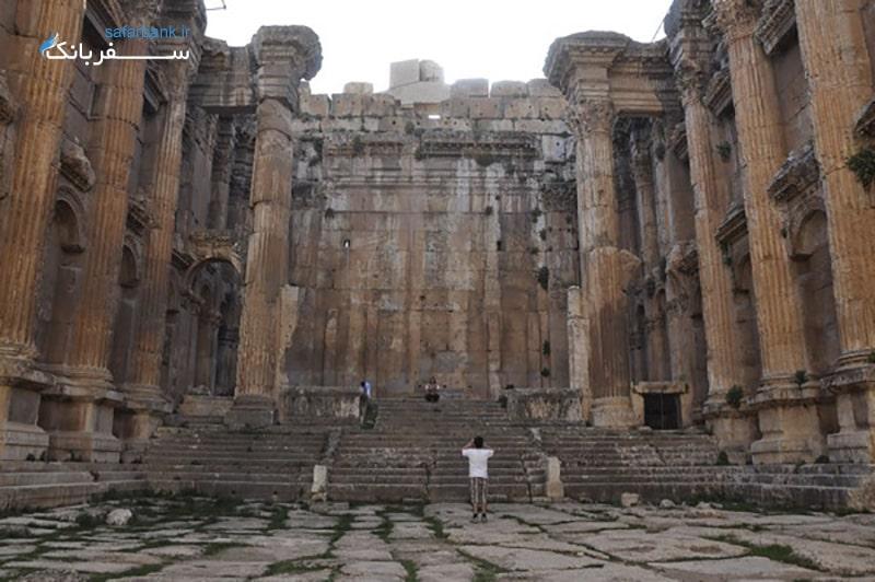 معبد ژوپیتر در بعلبک لبنان
