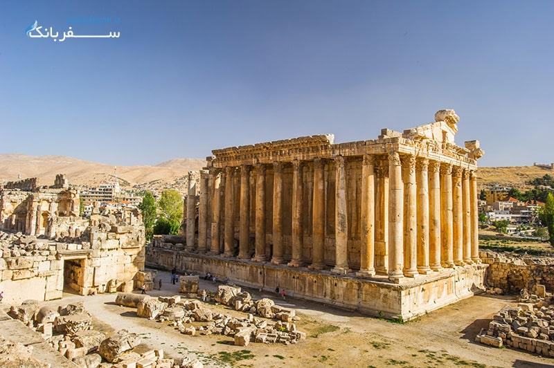 معبد باخوس در بعلبک لبنان