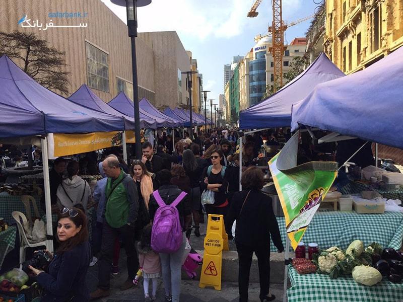 بازارهای لبنان، بازار سوک الطیب در بیروت