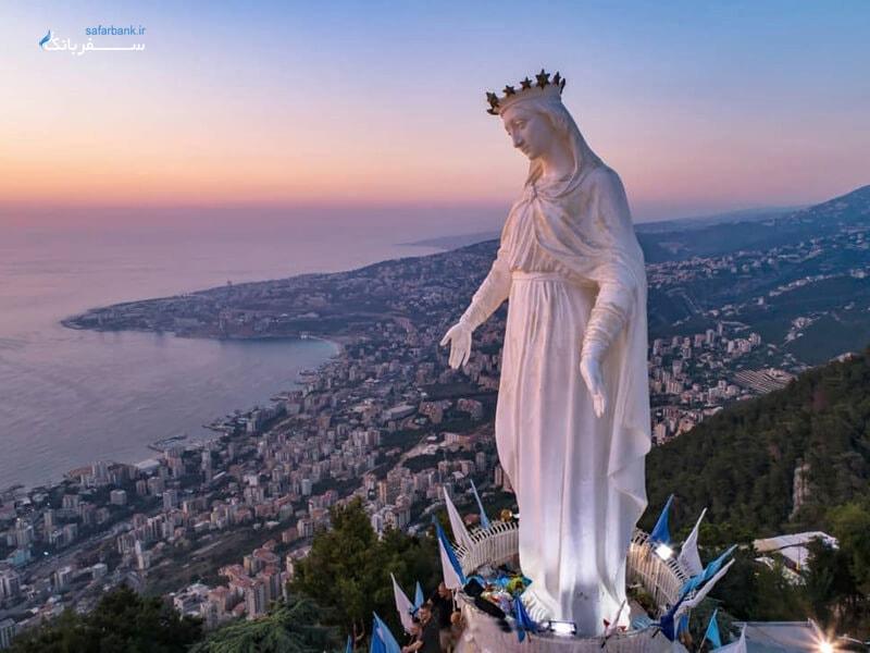 بانوی لبنان