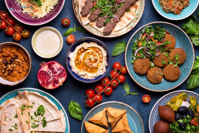 غذا های لبنانی