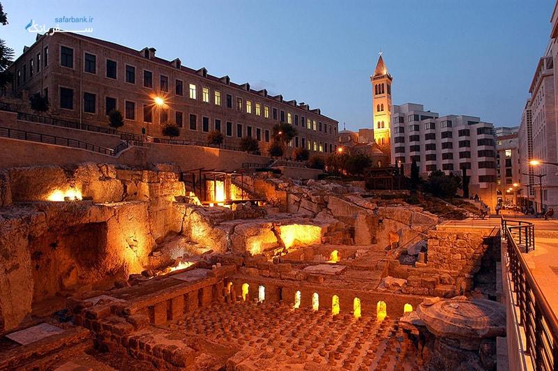 حمام رومی لبنان