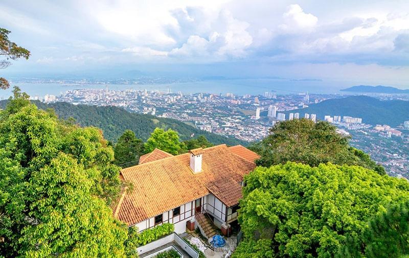 ارتفاعات پنانگ در مالزی و تفریحات پنانگ