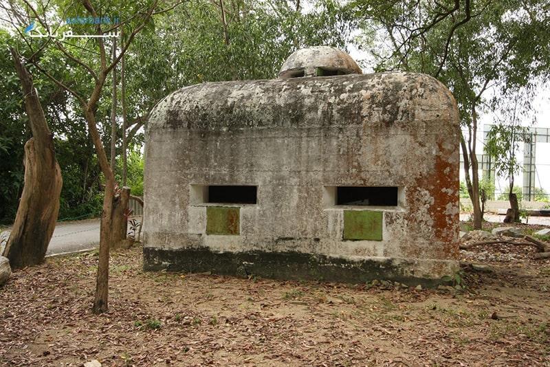 موزه جنگ مالزی از دیدنی های تور پنانگ