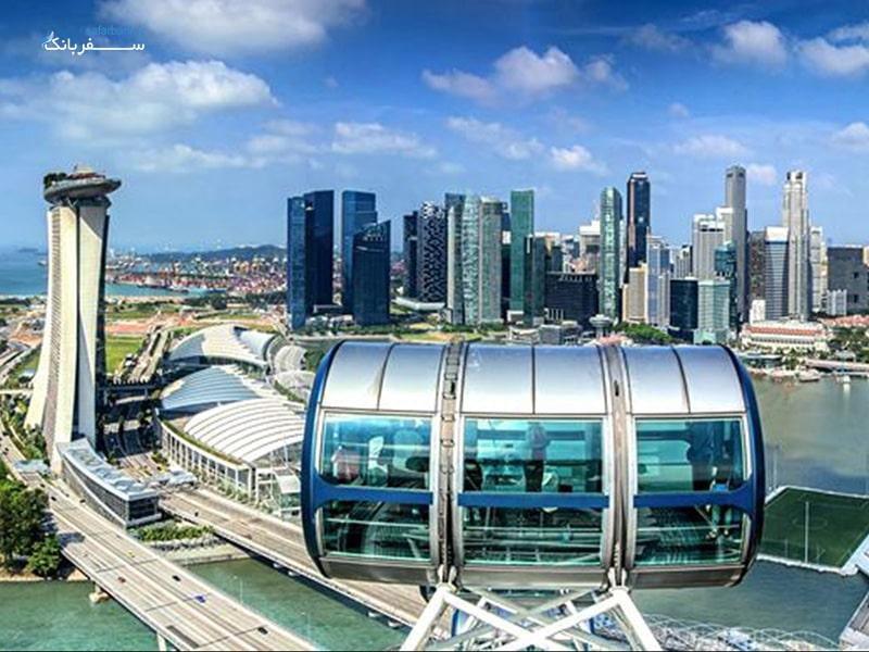 کپسول های چرخ و فلک سنگاپور