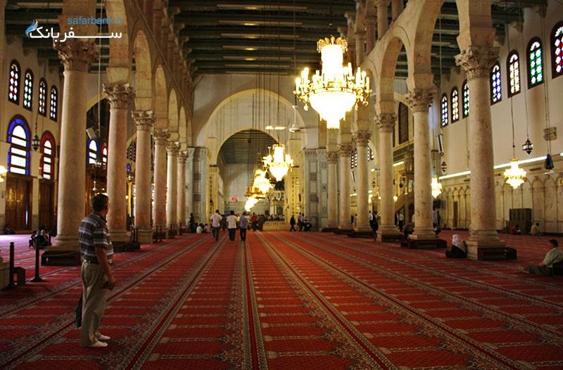 مسجد اموی در دمشق سوریه