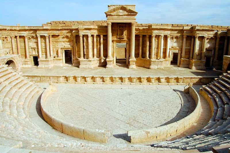 بازدید از شهر های باستانی سوریه